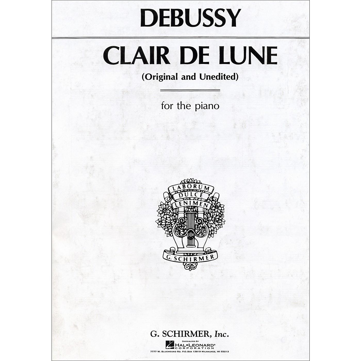 G. Schirmer Claire De Lune thumbnail