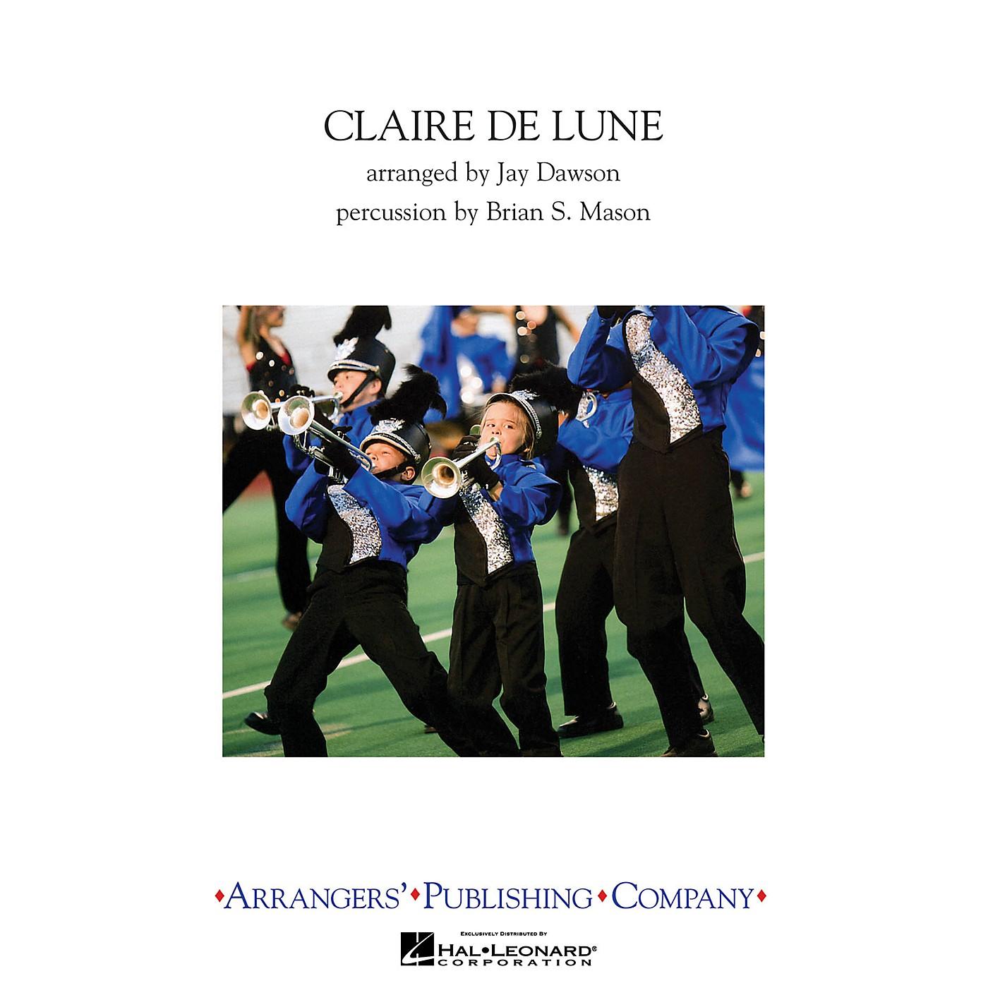 Arrangers Claire de Lune Marching Band Level 3 Arranged by Jay Dawson thumbnail