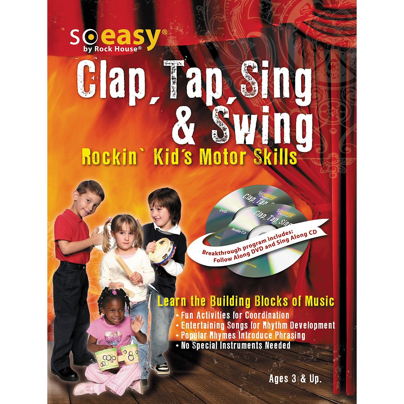Hal Leonard Clap, Tap, Sing & Swing: Rockin' Kid's Motor Skills DVD/CD thumbnail