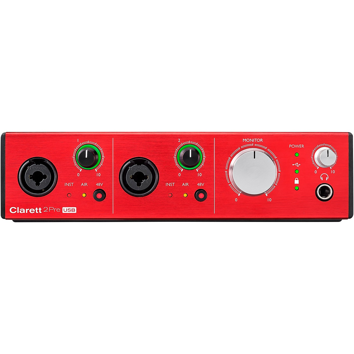 Focusrite Clarett 2Pre USB Audio Interface thumbnail