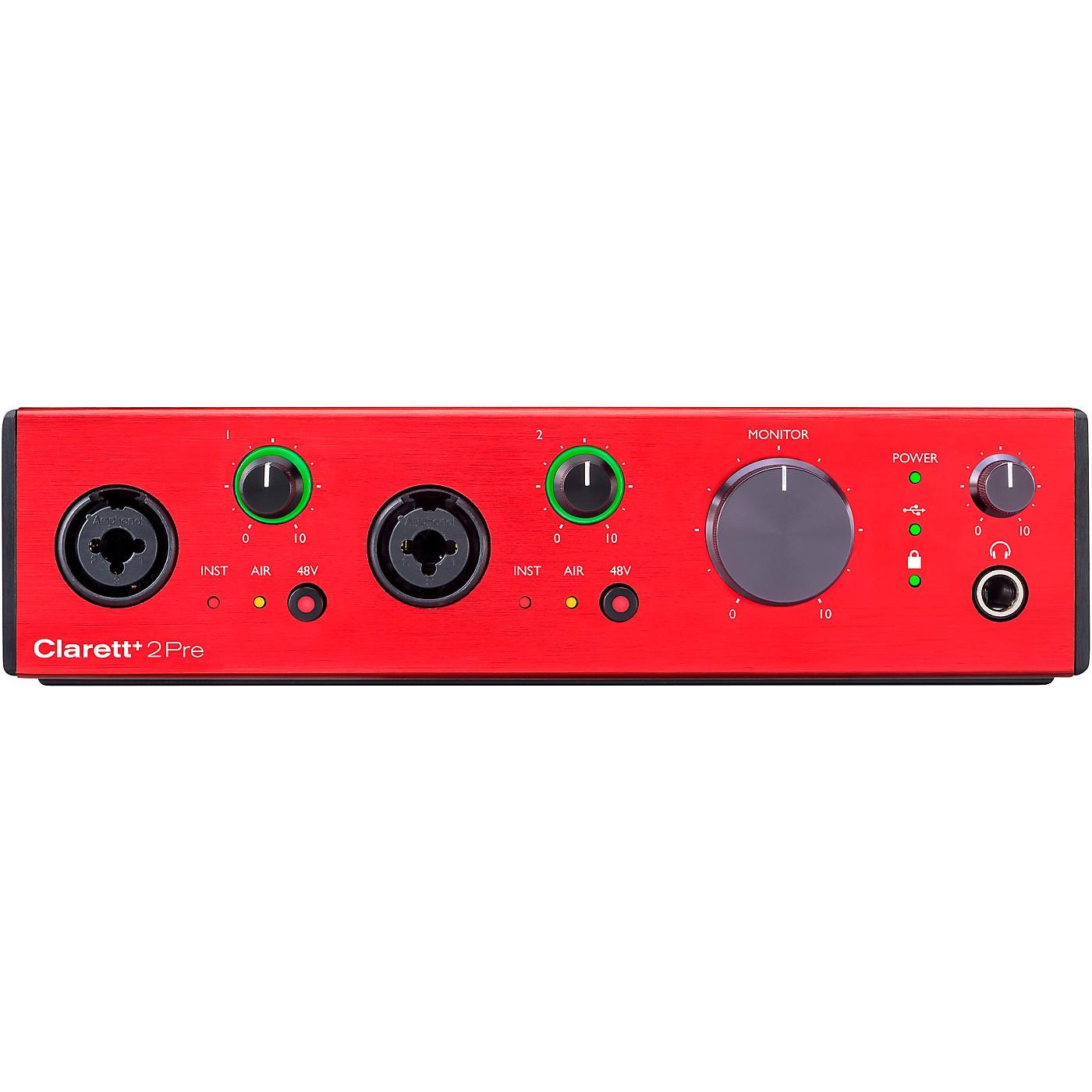 Focusrite Clarett+ 2Pre USB Audio Interface thumbnail