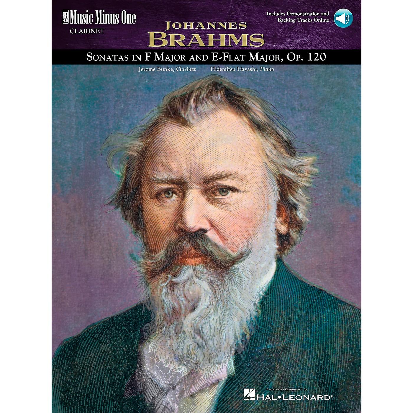 Hal Leonard Clarinet Brahms Sonata thumbnail