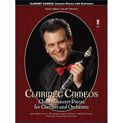 Music Minus One Clarinet Cameos - Classic Concert Pieces for Clarinet and Orchestra Music Minus One BK/CD thumbnail