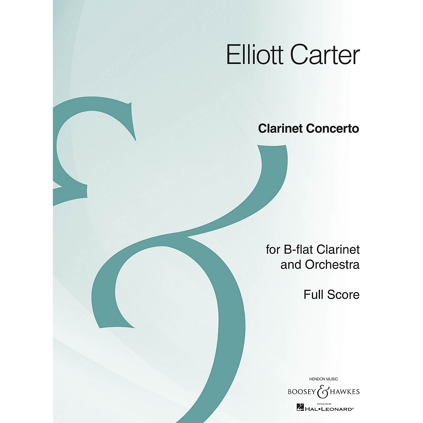 Boosey and Hawkes Clarinet Concerto (Full Score Archive Edition) Boosey & Hawkes Scores/Books Series by Elliott Carter thumbnail