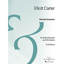 Boosey and Hawkes Clarinet Concerto (Full Score Archive Edition) Boosey & Hawkes Scores/Books Series by Elliott Carter