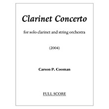Lauren Keiser Music Publishing Clarinet Concerto (Solo Part) LKM Music Series Composed by Carson Cooman