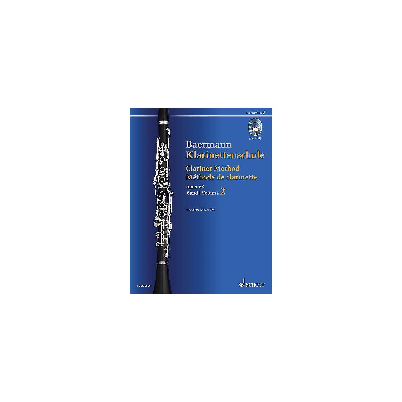 Schott Clarinet Method, Op. 63 Woodwind Method Series BK/CD thumbnail
