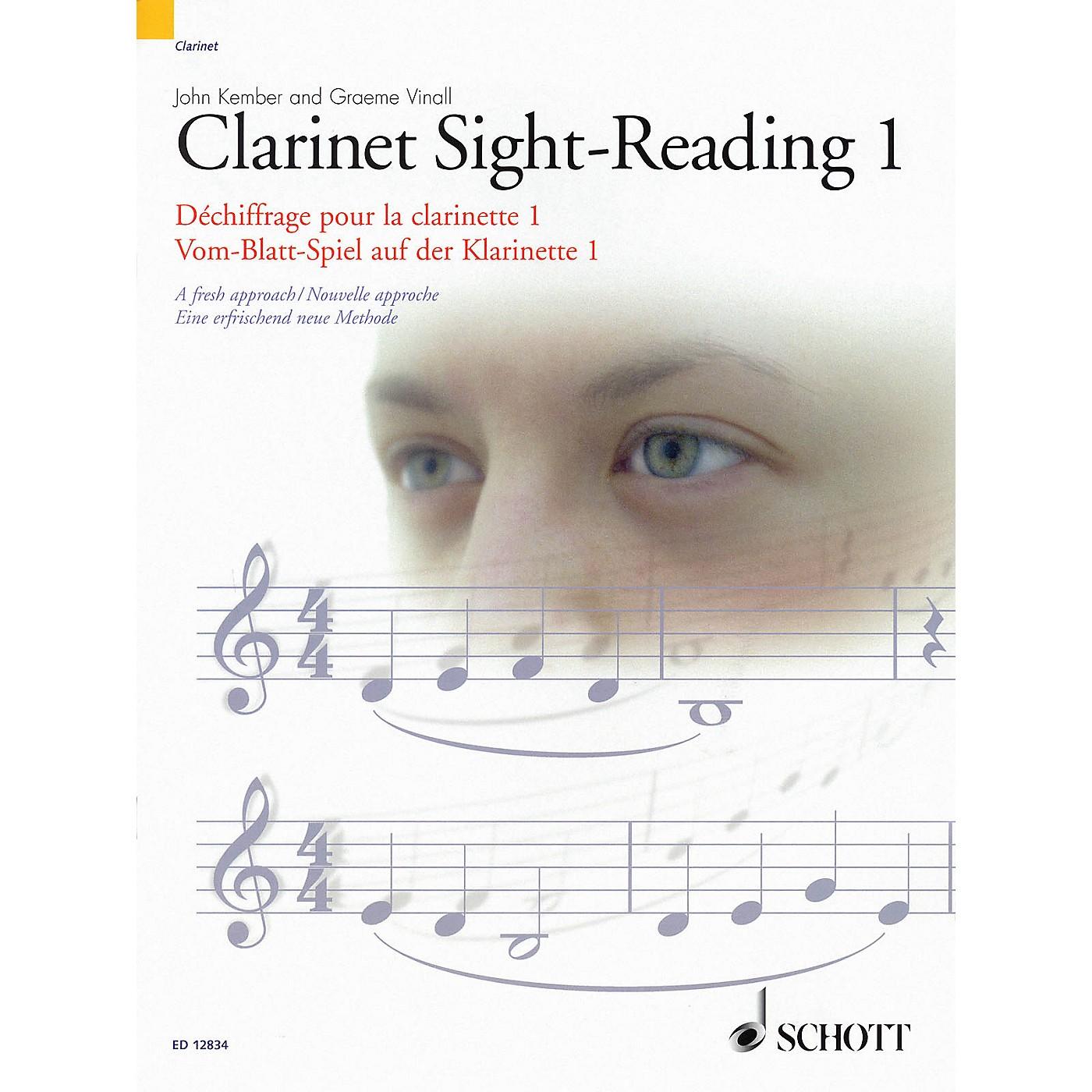Schott Clarinet Sight-Reading 1 Misc Series Written by John Kember thumbnail