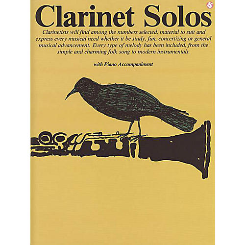 Music Sales Clarinet Solos (Everybody's Favorite Series, Volume 28) Music Sales America Series Softcover thumbnail