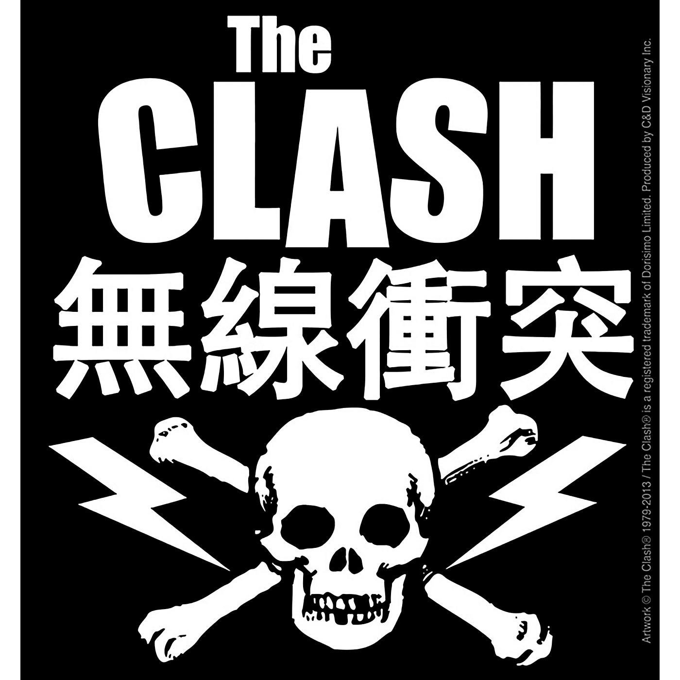 C&D Visionary Clash Skull Bone Sticker thumbnail