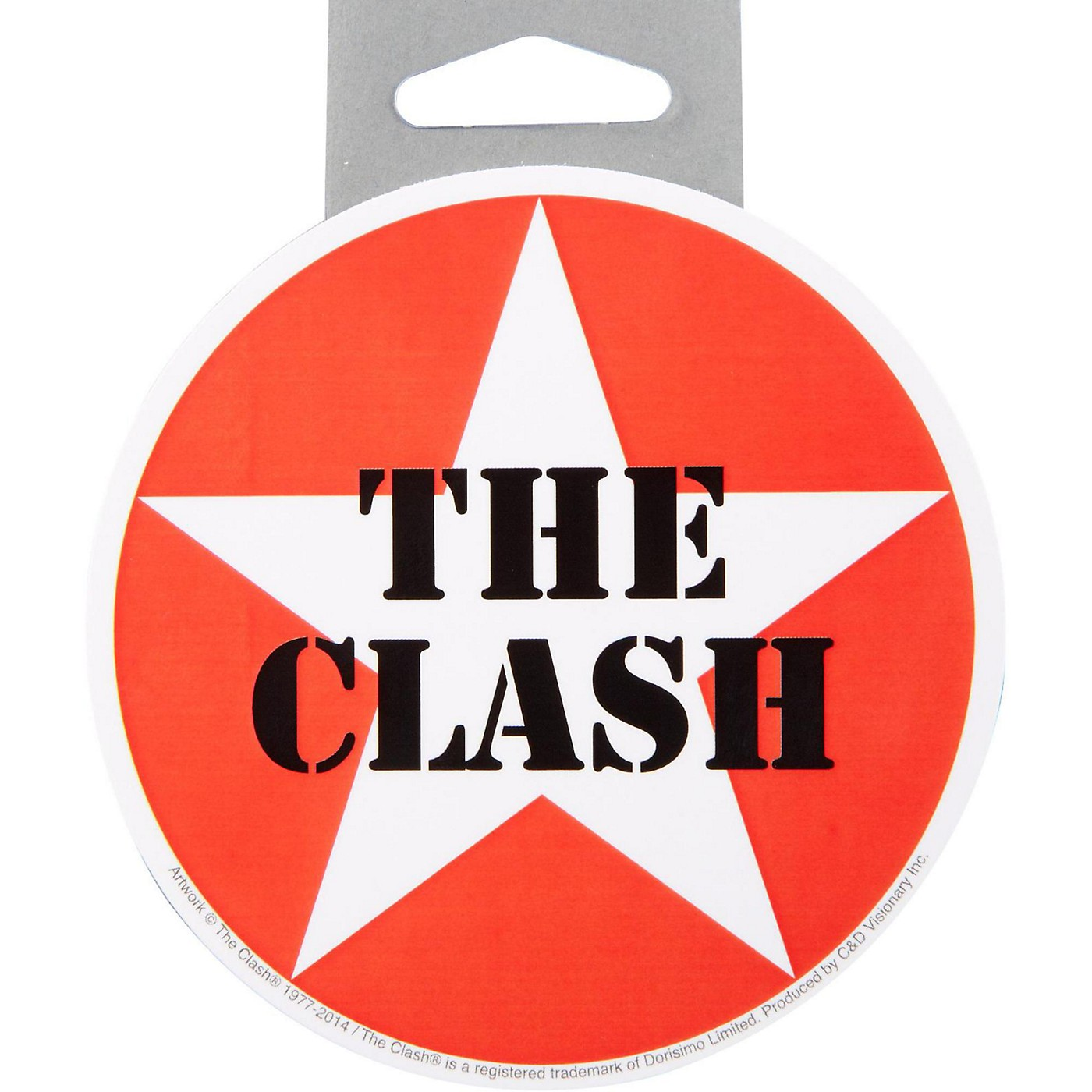 C&D Visionary Clash Star Logo Sticker thumbnail
