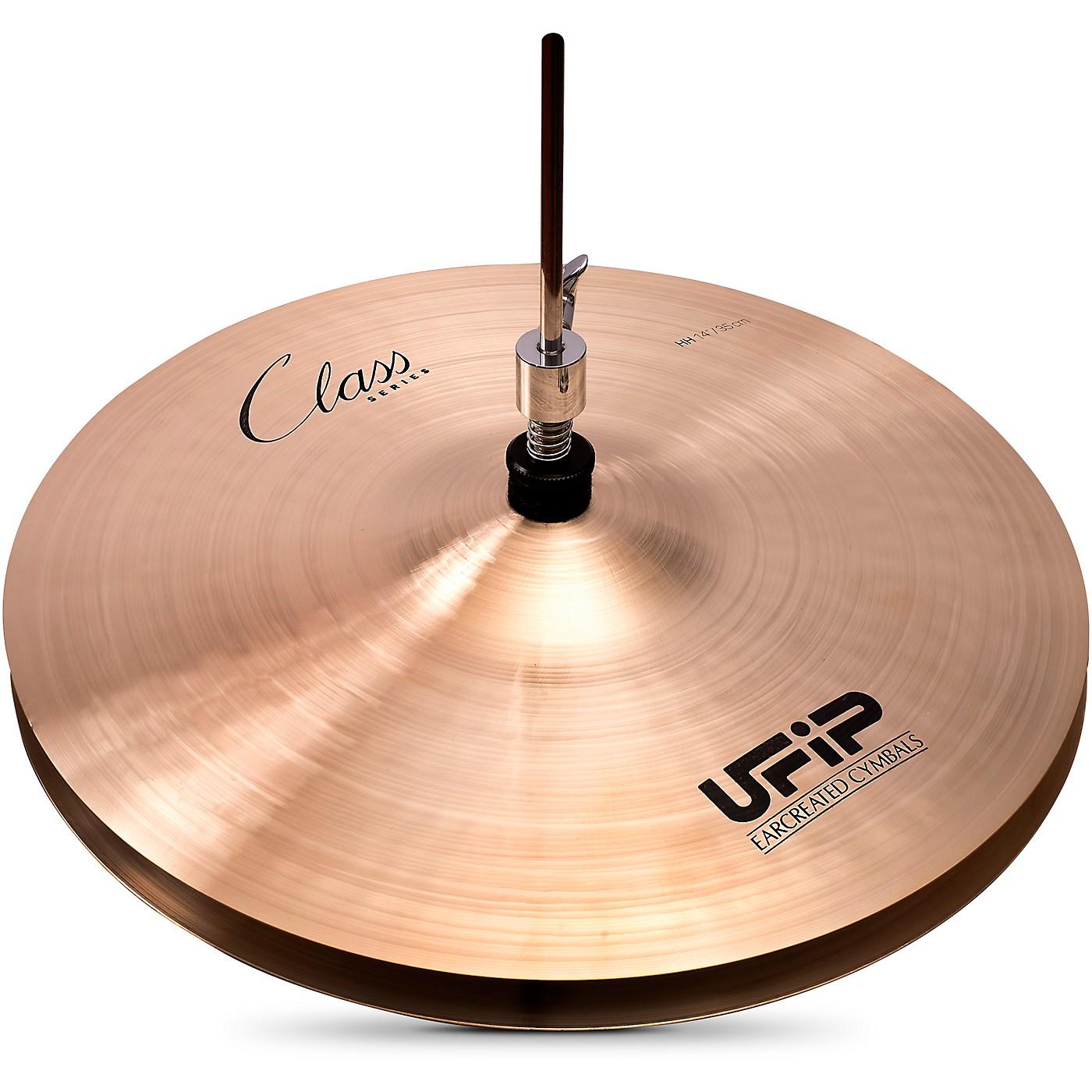 UFIP Class Series Heavy Hi-Hat Cymbal Pair thumbnail