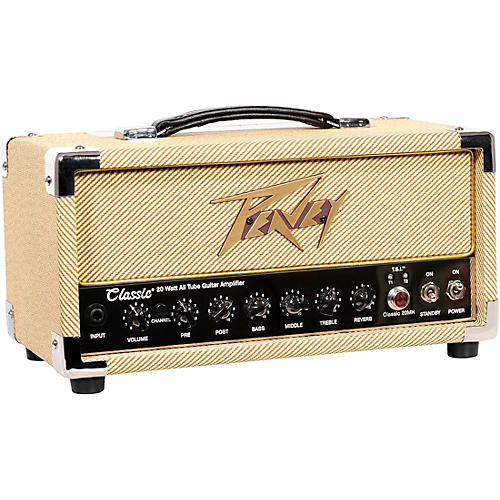 Peavey Classic 20 Micro Tube Guitar Amp Head thumbnail