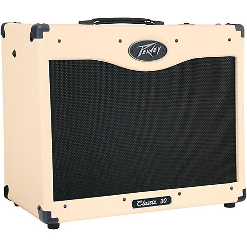 Peavey Classic 30 Special Edition 30W 1x12 Tube Guitar Combo Amp Ivory thumbnail