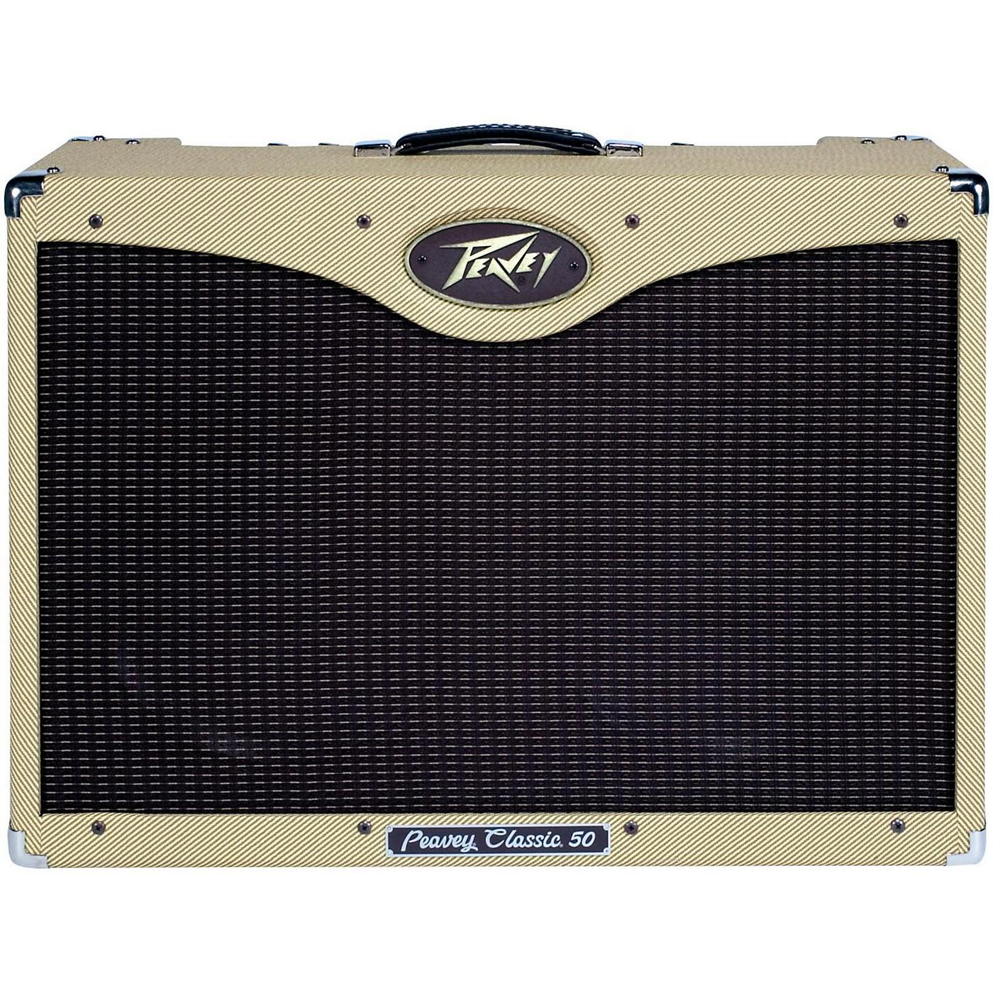 Peavey Classic 50 50W 2x12 Tube Combo Guitar Amp thumbnail