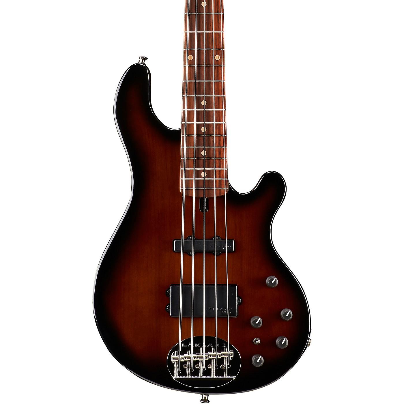 Lakland Classic 55-14 Rosewood Fretboard 5-String Electric Bass Guitar thumbnail