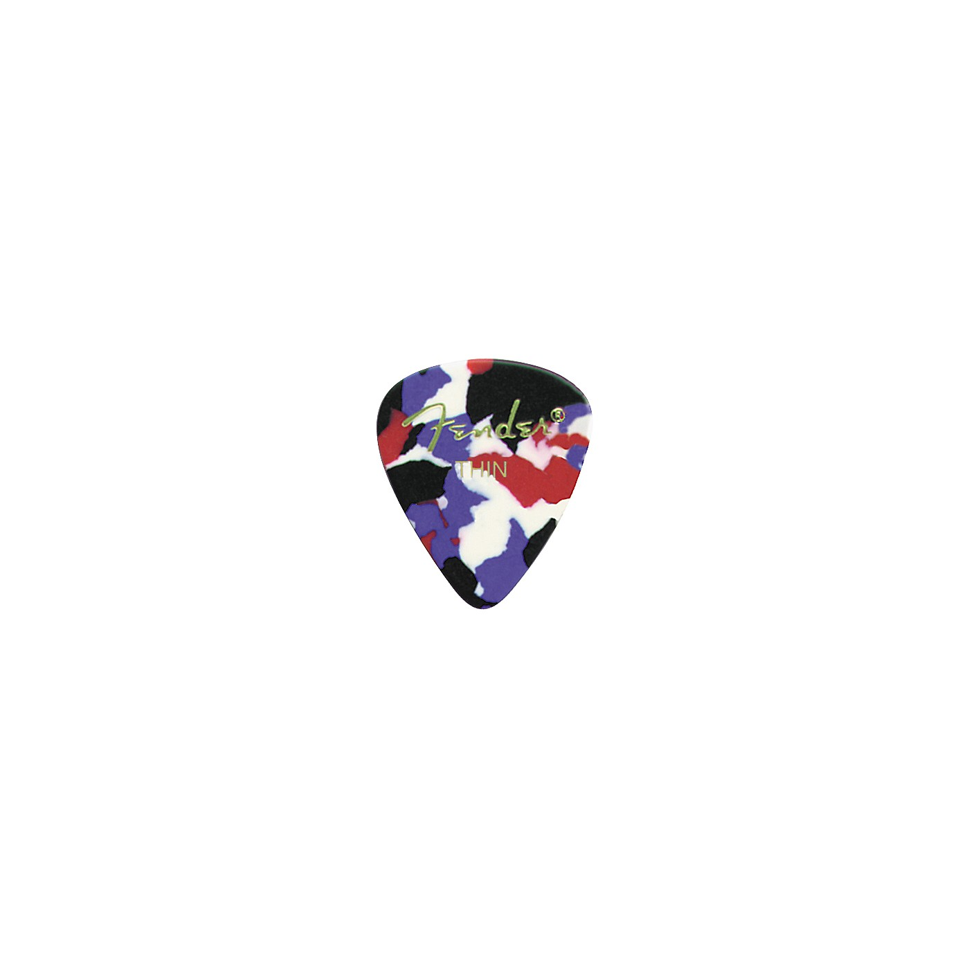 Fender Classic Celluloid Confetti Guitar Pick 12-Pack thumbnail