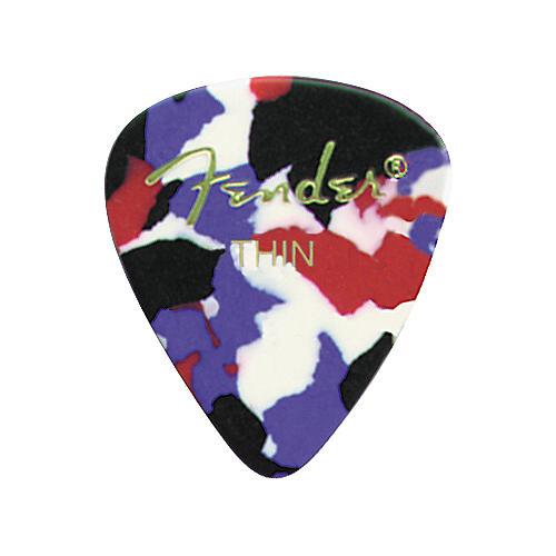 Fender Classic Celluloid Confetti Guitar Pick 12-Pack thumbnail