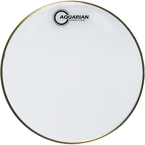 Aquarian Classic Clear Snare Bottom Drumhead thumbnail