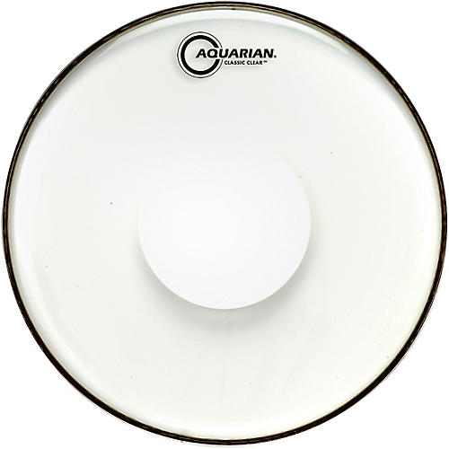 Aquarian Classic Clear With Power Dot Tom Head thumbnail