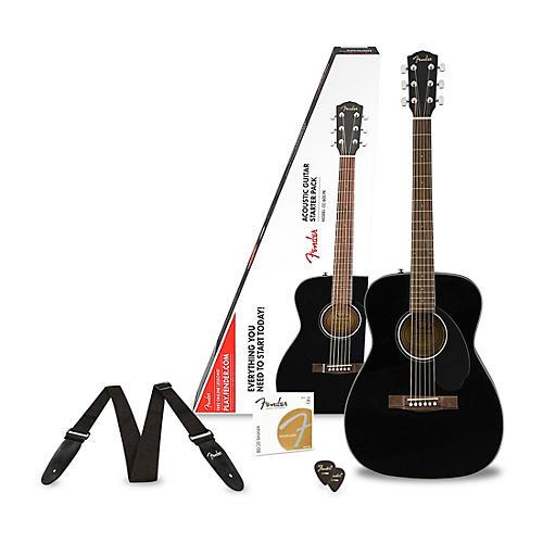 Fender Classic Design Series CC-60S Concert Acoustic Guitar Pack thumbnail