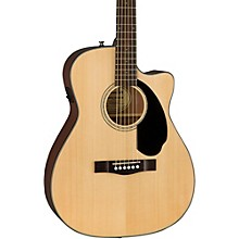 Fender Classic Design Series CC-60SCE Cutaway Concert Acoustic-Electric Guitar