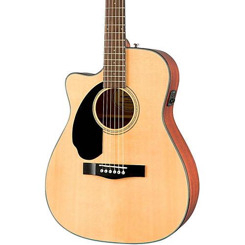 Fender Classic Design Series CC-60SCE Cutaway Concert Left-Handed Acoustic-Electric Guitar thumbnail