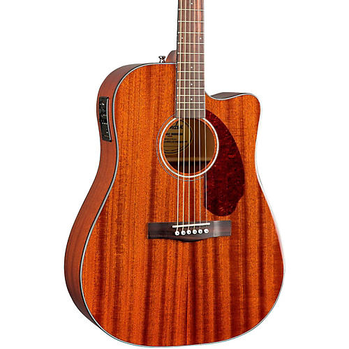 Fender Classic Design Series CD-140SCE Mahogany Cutaway Dreadnought Acoustic-Electric Guitar thumbnail