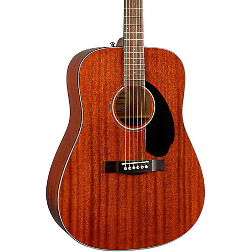 Fender Classic Design Series CD-60S All-Mahogany Dreadnought Acoustic Guitar thumbnail