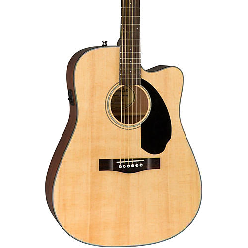 Fender Classic Design Series CD-60SCE Cutaway Dreadnought Acoustic-Electric Guitar thumbnail