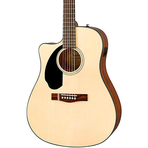 Fender Classic Design Series CD-60SCE Cutaway Dreadnought Left-Handed Acoustic-Electric Guitar thumbnail