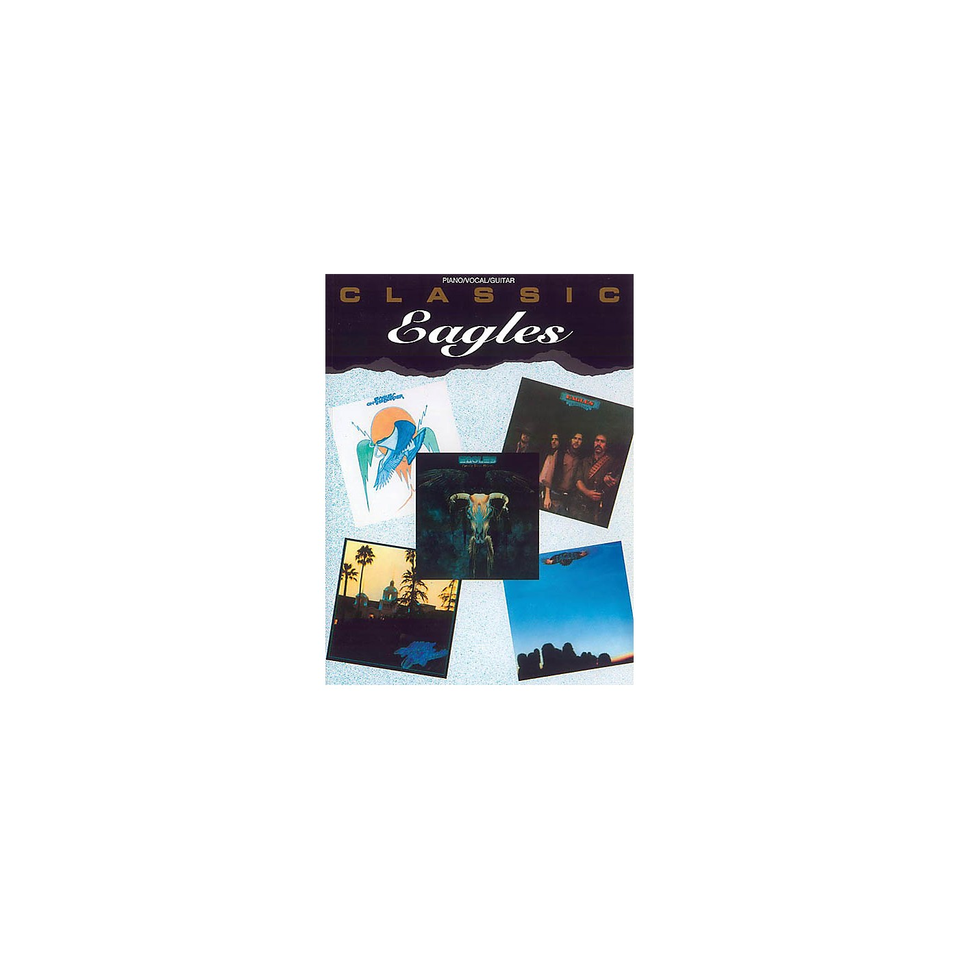 Alfred Classic Eagles Piano/Vocal/Guitar Artist Songbook Series Softcover Performed by Eagles thumbnail