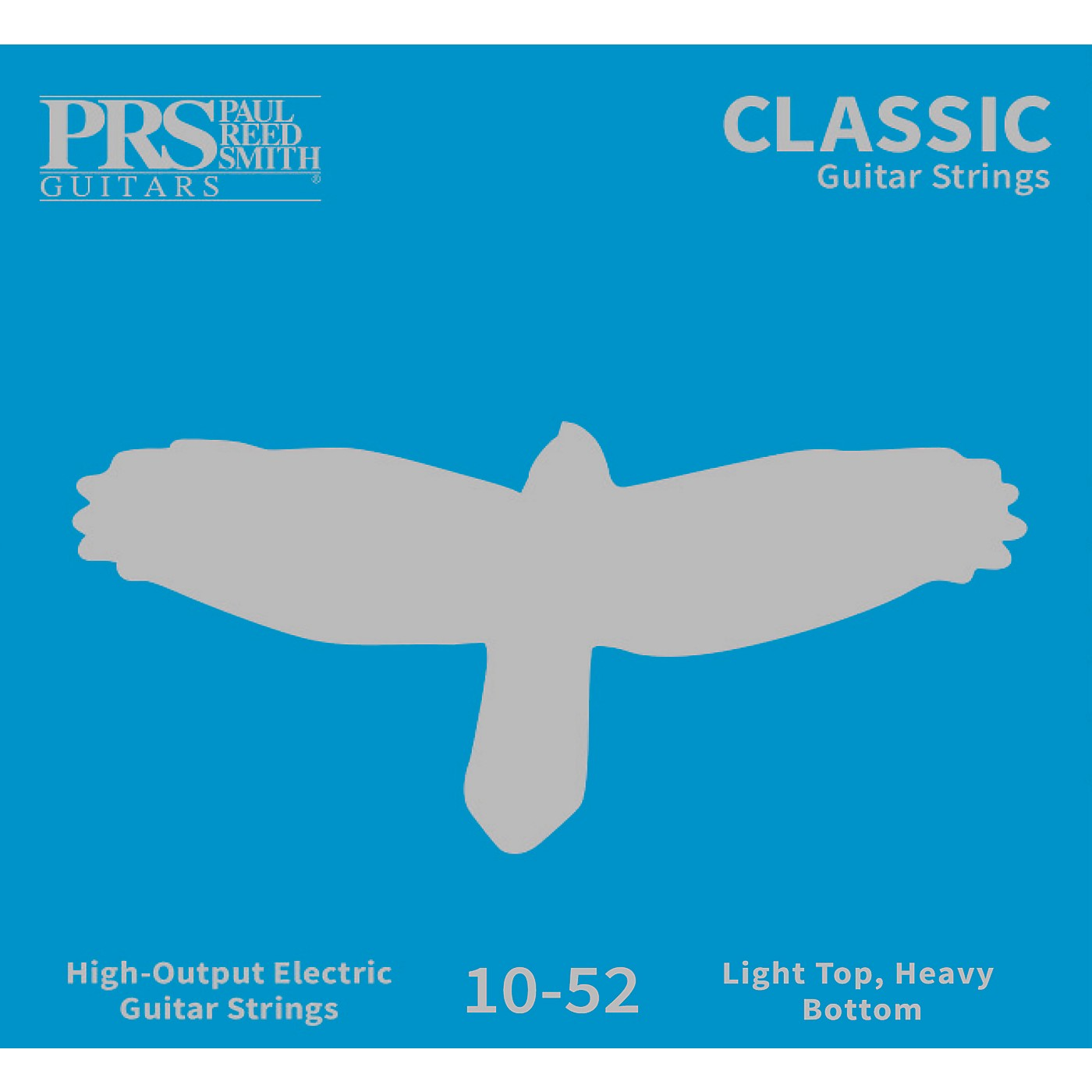 PRS Classic Electric Guitar Strings, Light Top/Heavy Bottom (.010-.052) thumbnail