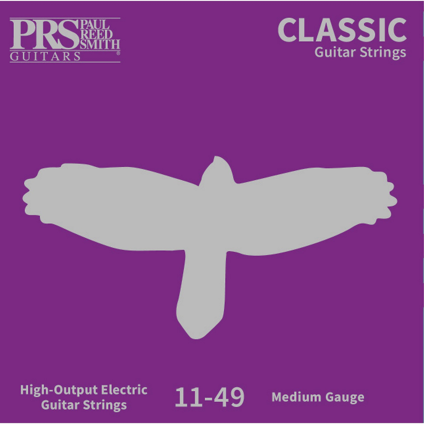 PRS Classic Electric Guitar Strings, Medium (.011-.049) thumbnail