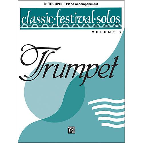 Alfred Classic Festival Solos (B-Flat Trumpet) Volume 2 Piano Acc. thumbnail