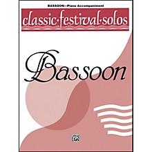 Alfred Classic Festival Solos (Bassoon) Volume 1 Piano Acc.