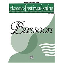 Alfred Classic Festival Solos (Bassoon) Volume 2 Solo Book