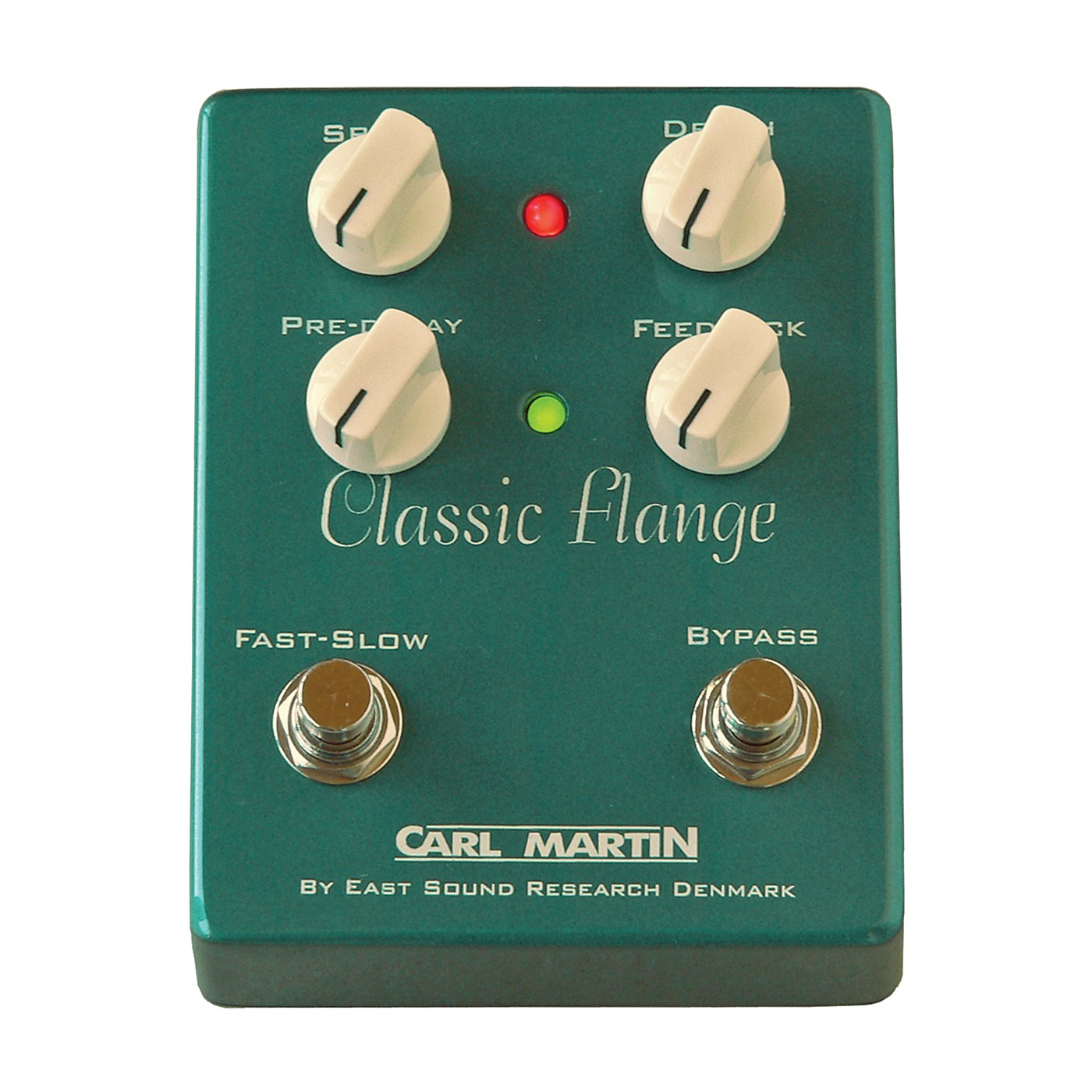 Carl Martin Classic Flange Version II Guitar Effects Pedal thumbnail
