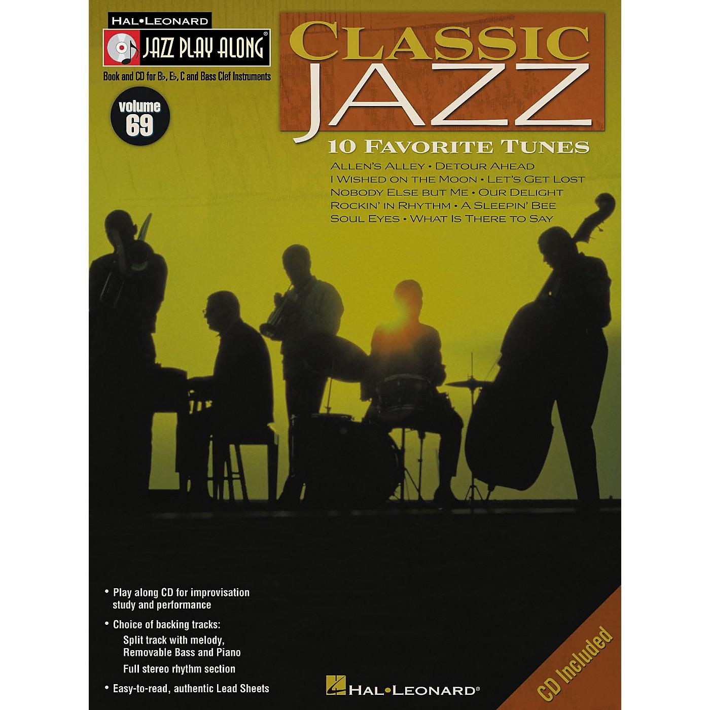 Hal Leonard Classic Jazz - Jazz Play Along Volume 69 Book with CD thumbnail