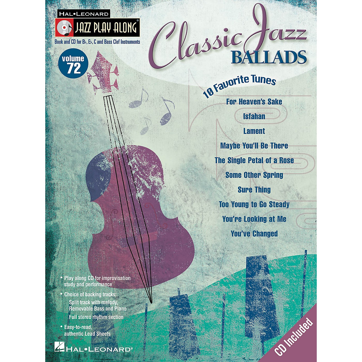 Hal Leonard Classic Jazz Ballads (Jazz Play-Along Volume 72) Jazz Play Along Series Softcover with CD thumbnail