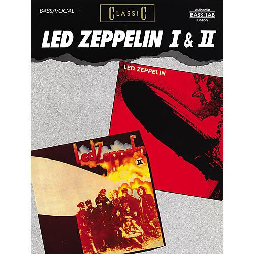 Alfred Classic Led Zeppelin I & II Bass Guitar Tab Songbook thumbnail