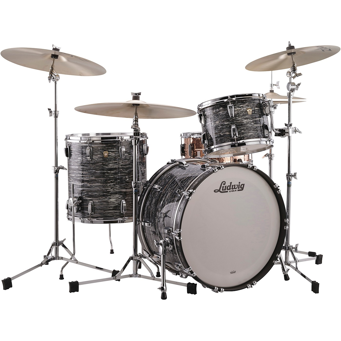 Ludwig Classic Maple 3-Piece Fab Shell Pack with 22 in. Bass Drum thumbnail
