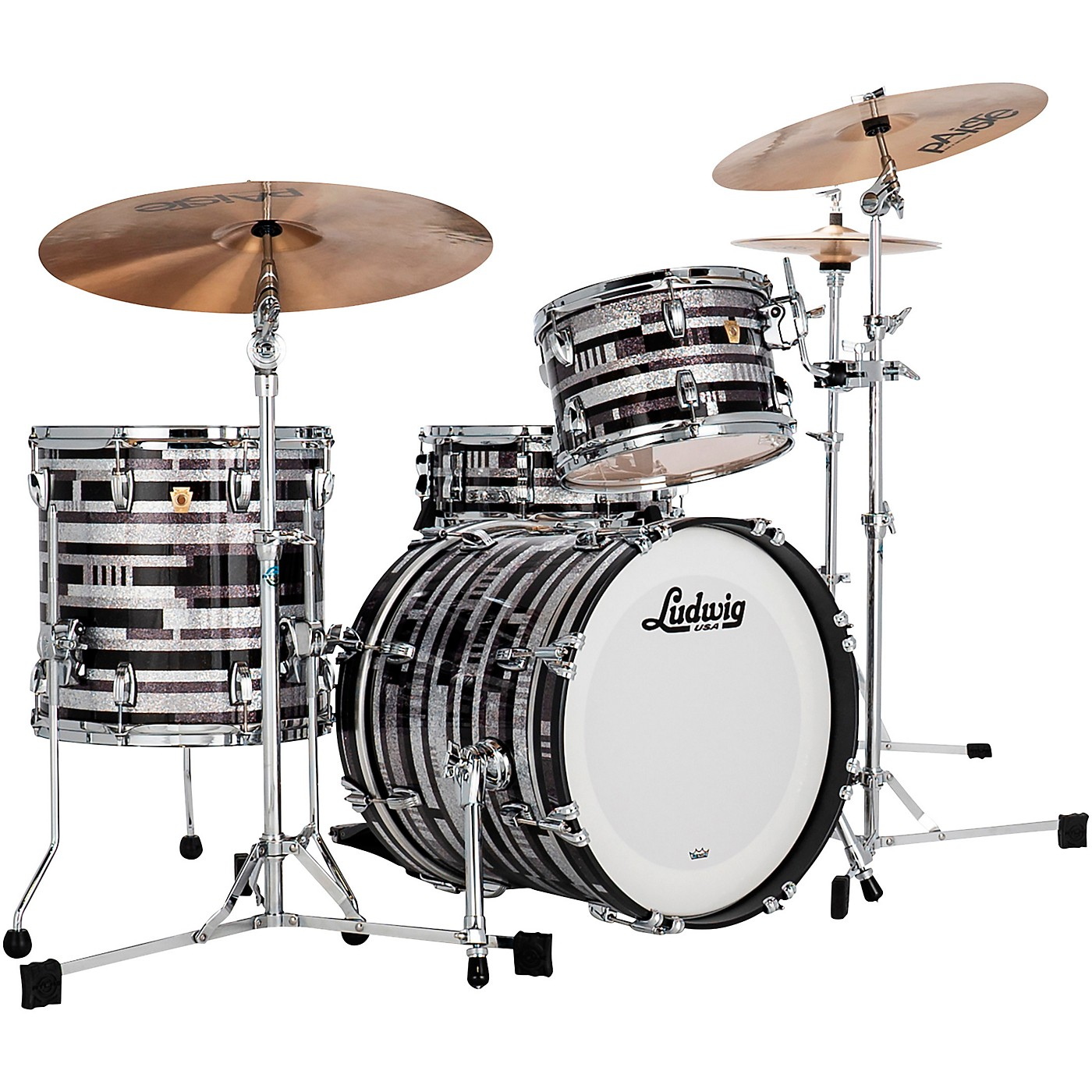 Ludwig Classic Maple 3-Piece Jazzette Shell Pack with 18 in. Bass Drum thumbnail