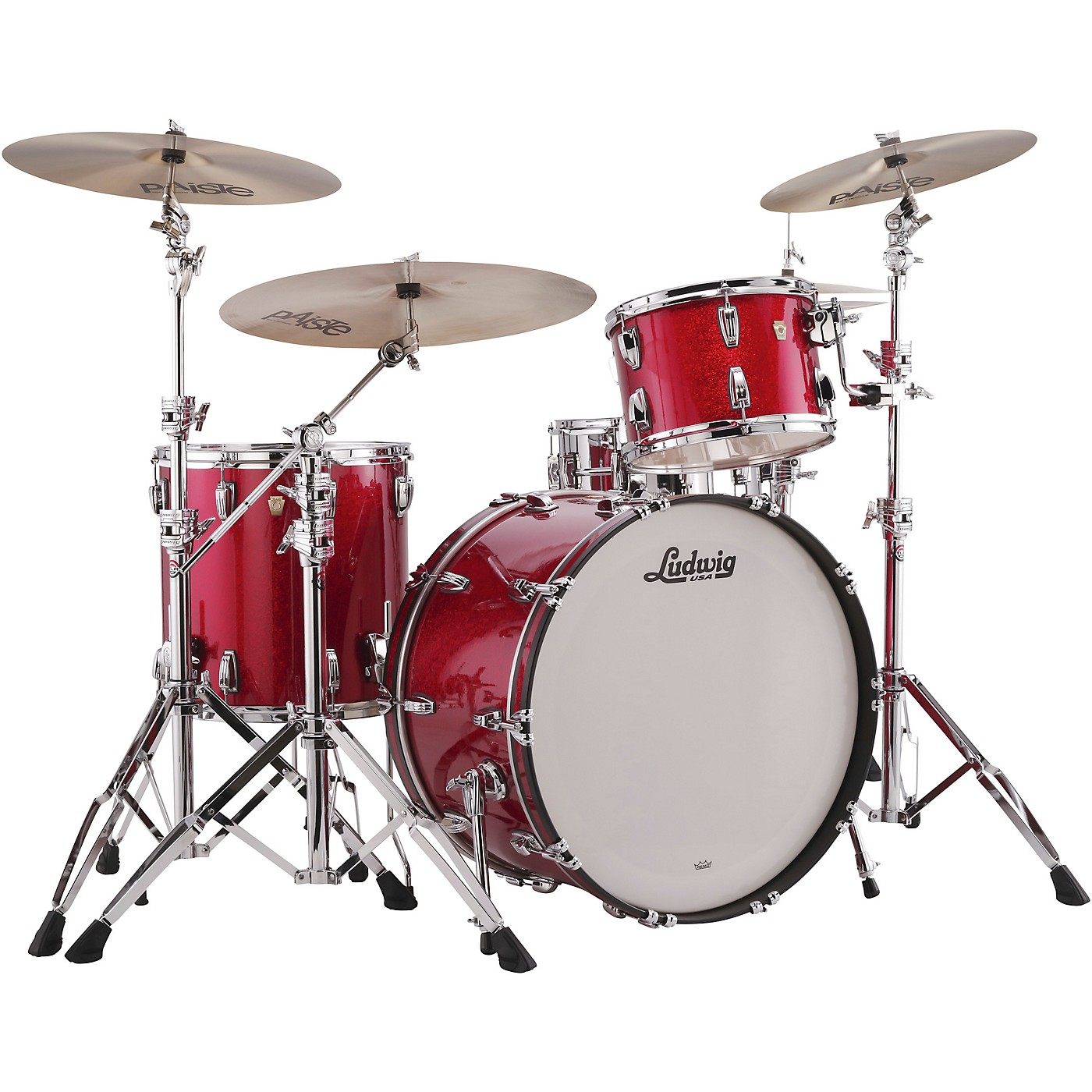 Ludwig Classic Maple 3-Piece Pro Beat Shell Pack with 24 in. Bass Drum thumbnail