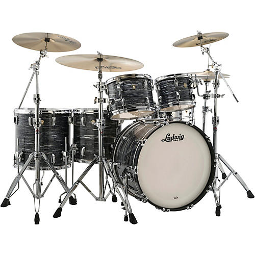 Ludwig Classic Maple 5-Piece Studio Shell Pack with 22 in. Bass Drum thumbnail