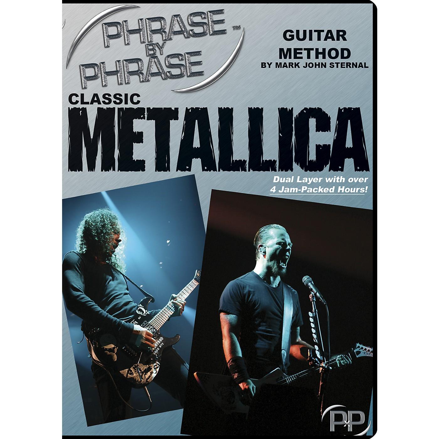 MJS Music Publications Classic Metallica: Phrase by Phrase Guitar Method DVD thumbnail