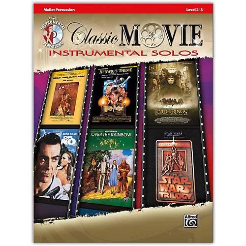 Alfred Classic Movie Instrumental Solos Mallet Book & CD Level 2-3 thumbnail