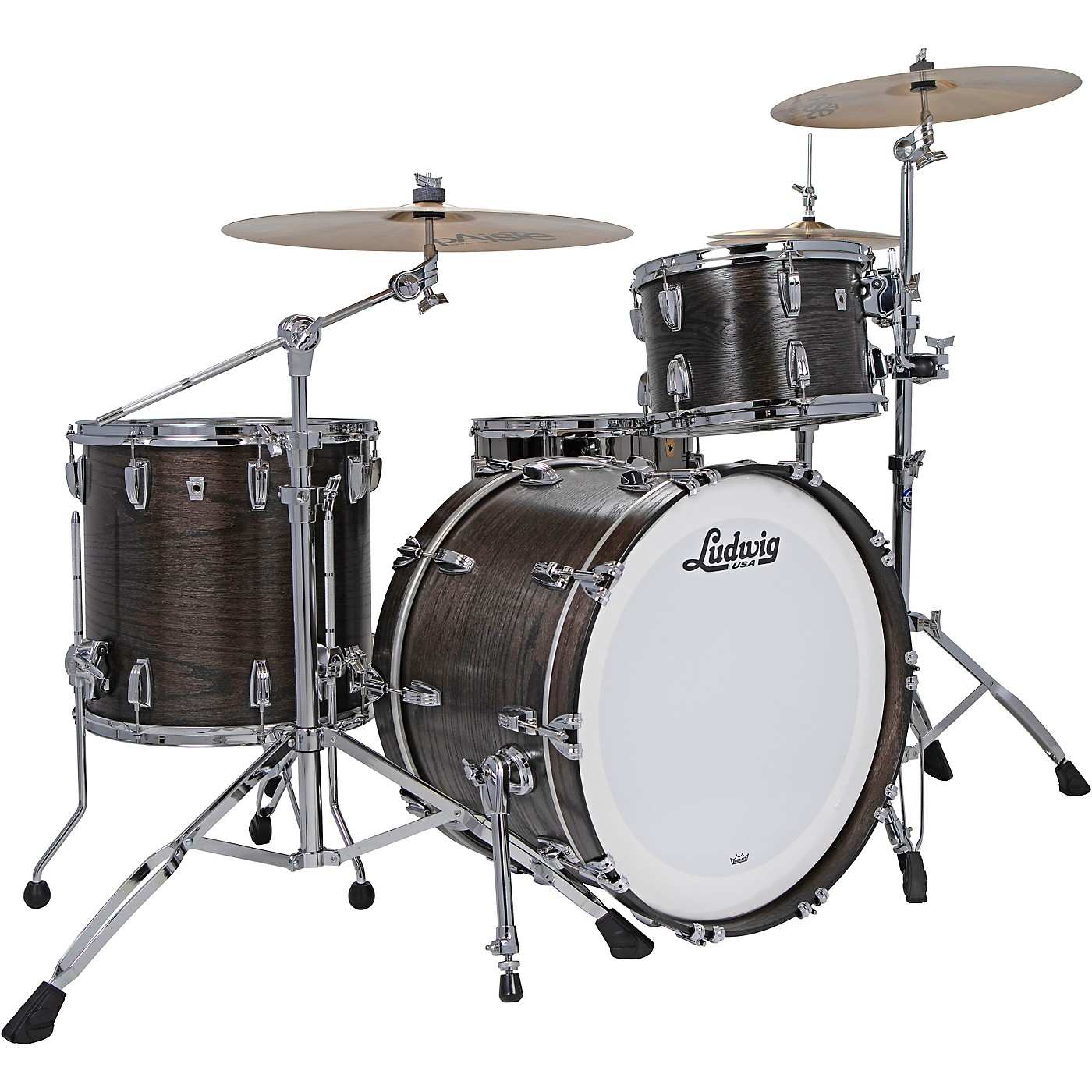 Ludwig Classic Oak 3-Piece Fab Shell Pack with 22 in. Bass Drum thumbnail