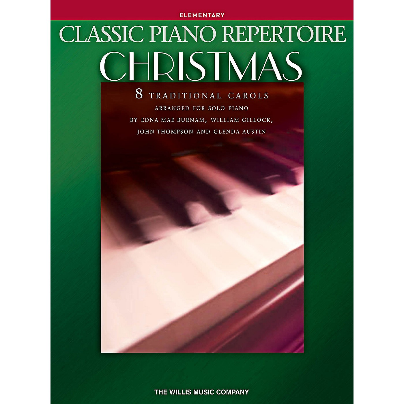 Willis Music Classic Piano Repertoire: Christmas Elementary Level Piano Songbook thumbnail
