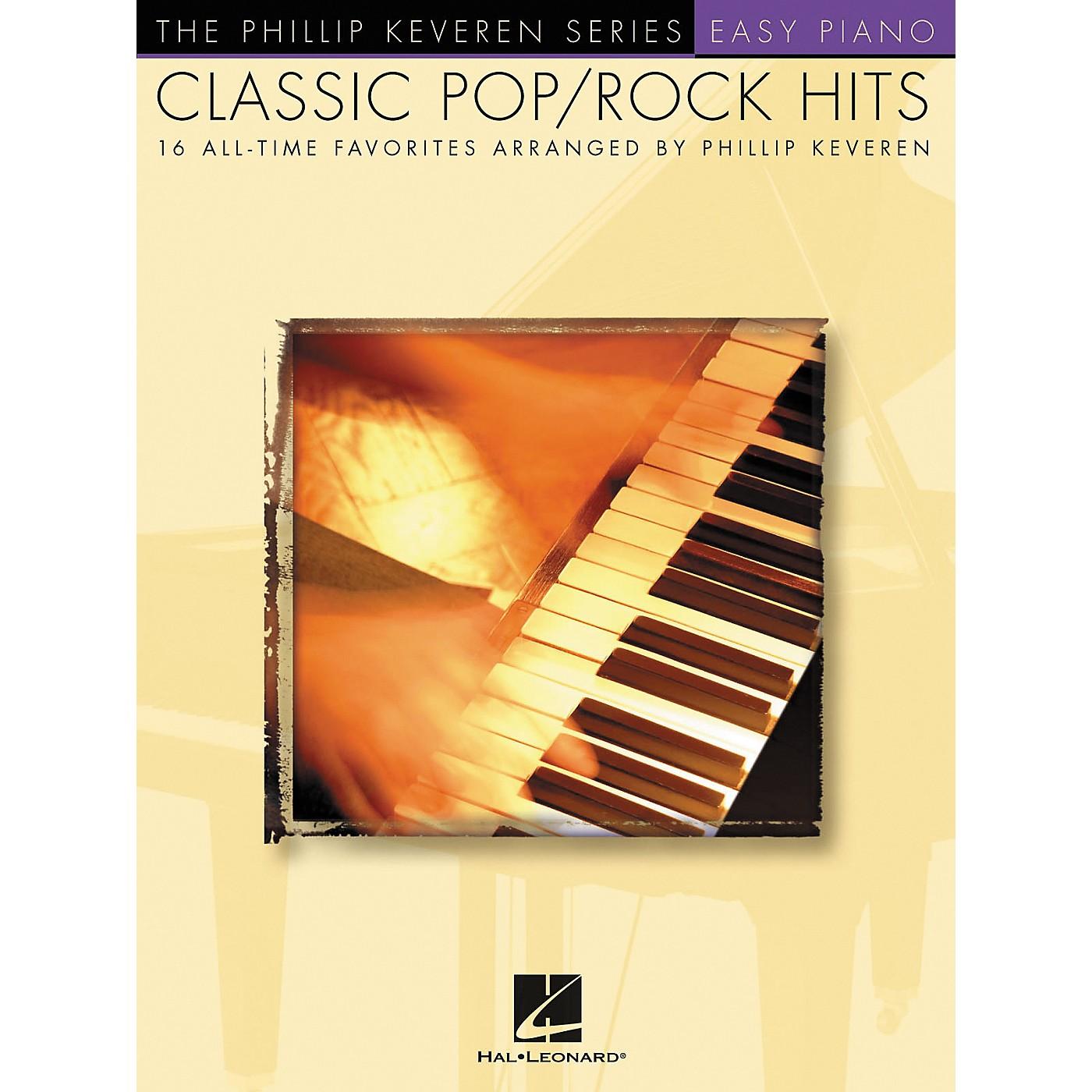Hal Leonard Classic Pop/Rock Piano Hits - Phillip Keveren Series For Easy Piano thumbnail